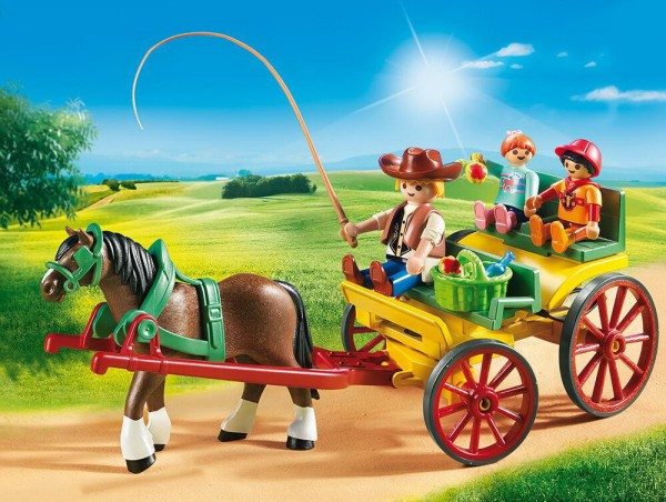 Playmobil 6932 - Pferdekutsche (Country)