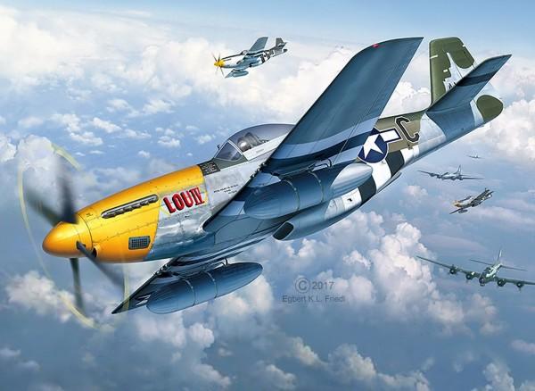Revell 03944 - P-51D-5NA Mustang frühe Version