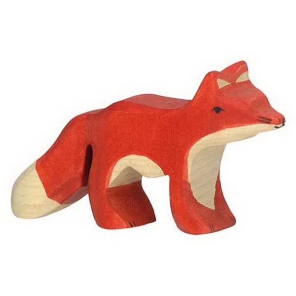 Holztiger Fuchs klein