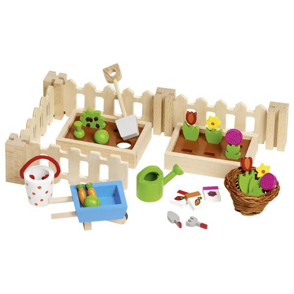 Puppenhaus Zubehör Mein kleiner Garten (goki 51729)