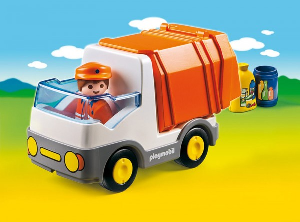 Playmobil 6774 - 1.2.3 Müllauto
