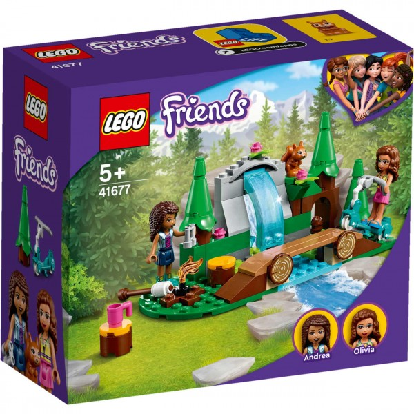 LEGO Friends 41677 - Wasserfall im Wald