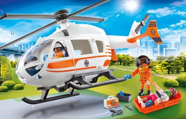 Playmobil 70048 - Rettungshelikopter (City Life)