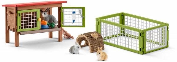 Kaninchenstall - Schleich (42420) Farm World