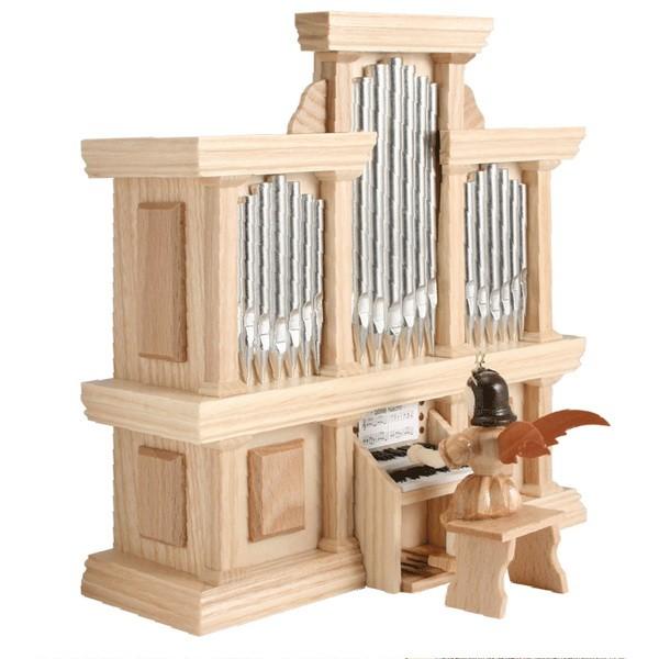 Blank Kurzrock-Engel an der Orgel
