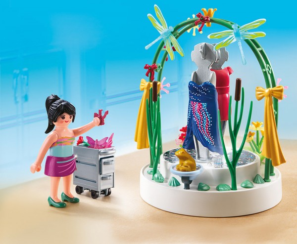 Playmobil 5489 - Dekorateurin mit LED Podest