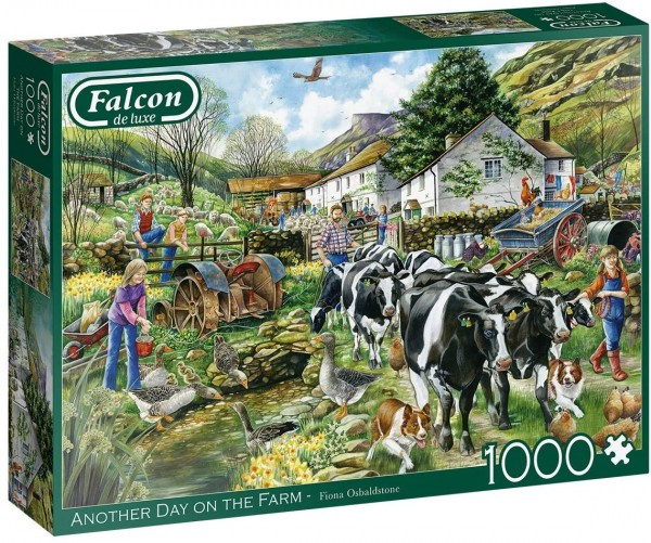 Puzzle - Another Day on the Farm (Falcon de Luxe) - 1000 Teile