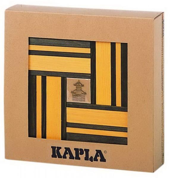 Kapla Farben Set gelb und grün und Buch 23 (020/18)