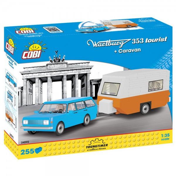 COBI - Wartburg 353 Tourist Caravan Wohnwagen (24592) - Bausteine kaufen