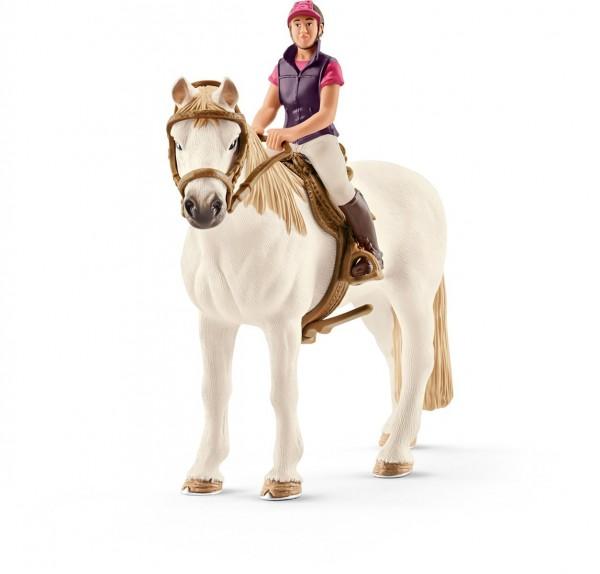 Freizeitreiterin mit Pferd - Schleich (42359) Horse Club