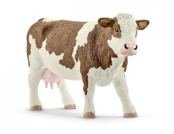 Schleich Fleckvieh Kuh (13801) Farm Life