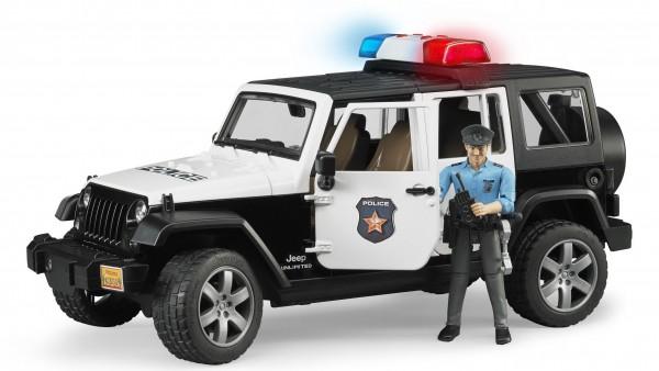 BRUDER 02526 - JEEP Wrangler Rubicon Polizeifahrzeug